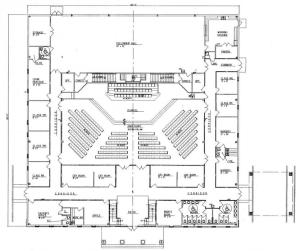 Church Plan 152 Floor Plan